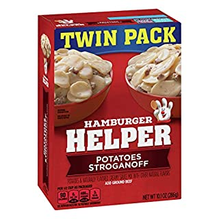 Hamburger Helper, Stroganoff Pasta and Creamy Sauce Mix, 10.1 oz