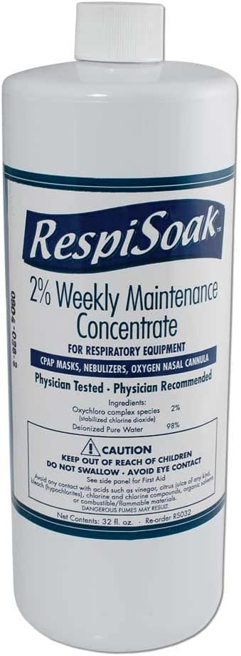 Respisoak 32 oz. Concentrate for RespiKit