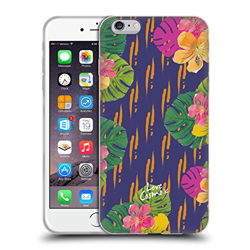 Official Cosmopolitan Hawaiian Tropical Soft Gel Case for Apple iPhone 6 Plus / 6s Plus