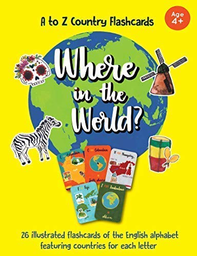 - Guba Publishing Country Flashcards Where in The World?