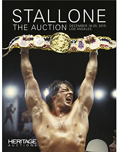 Stallone - The Auction Catalog Limited Library Edition 7111 - The Hardcover