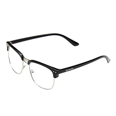 7122e52fc7d Haodasi Boys Girls Unisex Nearsighted Eyeglasses Vintage Retro Students  Style Short Distance Myopia Anti-fatigue Glasses -1.0~-5.0 (These are not  reading ...