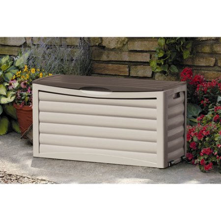 63-Gallon Deck Box by Suncast