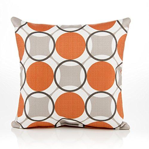 Sweet Potato Echo Circle Print Pillow