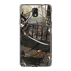 High-quality Durability Case For Galaxy Note3(assassins Creed Iv: Black Flag)