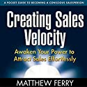 Creating Sales Velocity: Awaken Your Power to Attract Sales Effortlessly Audiobook by Matthew Ferry Narrated by Matthew Ferry