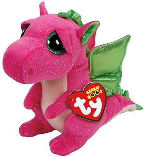 Ty Llavero Dragon Rosa 8,5 cm 35031