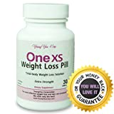 One XS Weight Loss Pills (X-Strength) Prescription Grade Diet Pill. No Prescription Needed. Fast Proven Results. Weight Loss Guarantee. 30ct, Health Care Stuffs