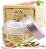 Facial Moisturizer Natural Day Cream - Premium Vegan Face and Neck Care 1.7 oz - Shea, Jojoba, Olive, Avocado & Almond Oils Blend
