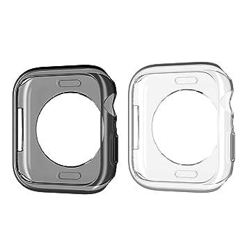 AWADUO para Apple iWatch Series 4 40 mm Carcasa de TPU ...