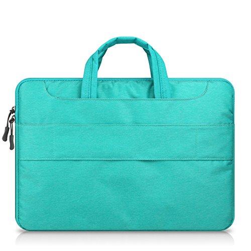 HEXIN 13 13.3/Laptop Messenger Bag for Women Detachable Padded Laptop Crossbody Bag Black FY70170-13.3