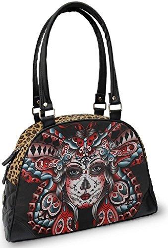 Liquorbrand-Butterfly-Tattoo-Day-of-the-Dead-Sugar-Skull-Rockabilly-Bag-Purse