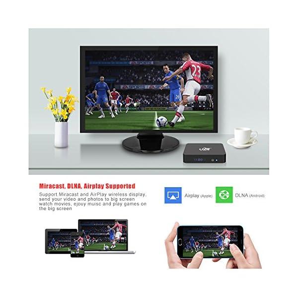 U2C Android 7 1 TV Box, 2GB RAM 16GB ROM Amlogic S912 Octa Core 64 Bits  3D/4K/H 265 Smart TV Box Dual Band WiFi 2 4GHz/5GHz/BT 4 1 X Plus with Mini