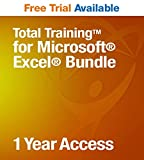 Total Training for Microsoft Excel Bundle | Free Trial Available