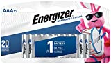 Health & Personal Care : Energizer AAA Lithium Batteries, Ultimate Lithium Triple A Battery (12 Count), Longest-Lasting AAA Battery - Packaging May Vary