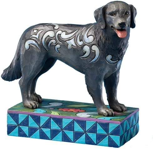 Jim Shore Heartwood Creek Black Lab Figurine, 5-1 4-Inch
