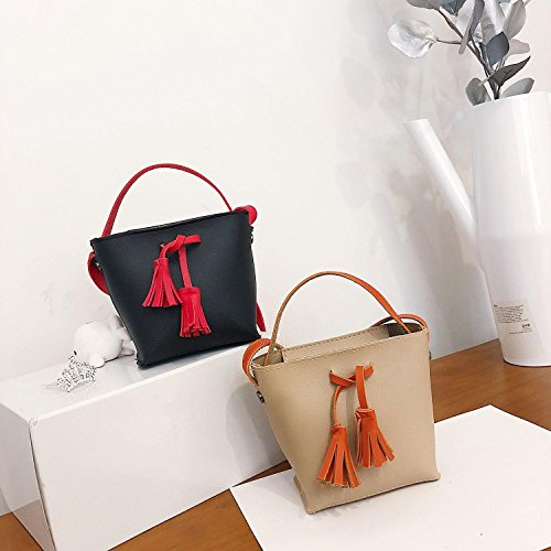Youcoco Handbag Shoulder Soft Canvas Shoulder Large Khaki Zipper Striped Women Wide Bags Bags Capacity rTntxSr