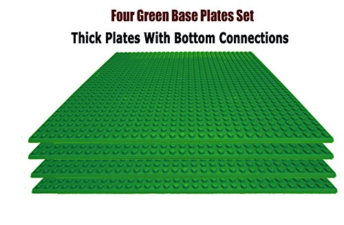 upgrade-building-base-plates-4-green-10-x-10-baseplates-compatible-with-all-major-brands-perfect-for