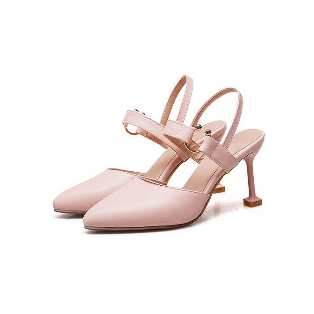 XUERUI Frau High Heels Stilettos Sandalen Party Sexy Modisch Modisch Modisch 8cm Absatz Pumps (Farbe   2, größe   EU39 UK6 CN39) ef4962