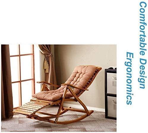 Yuany Silla de jardín reclinable, sillón reclinable, silla plegable de jardín, sillón de jardín, silla de tumbona, para uso pesado: Amazon.es: Hogar