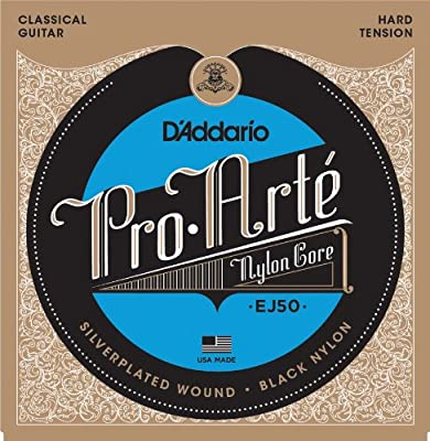 D'Addario Pro-Arte Black Nylon Classical Guitar Strings