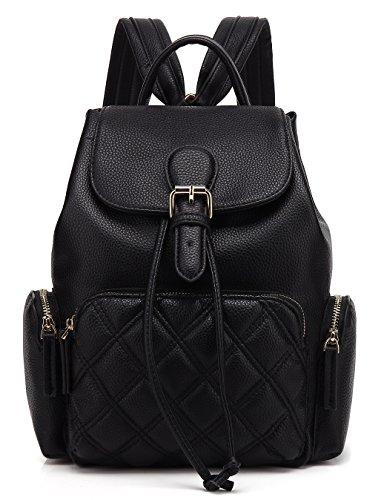 Scarleton Chic Casual Backpack H1608206201 - Black Q