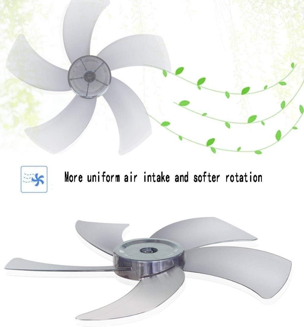 L-Fan Industriale, semplicità da Terra piedistallo Fans Ufficio Camera Scuotere la Testa Ventilatore Impostazione a 3 velocità (Color : A) B