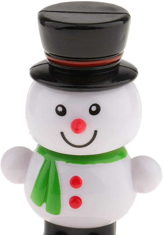 Christmas Snowman Solar Buddies Novelty Gift