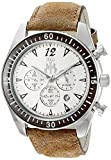 Jivago Men's 'Timeless' Quartz Stainless Steel Casual Watch, Color Brown (Model: JV4512)