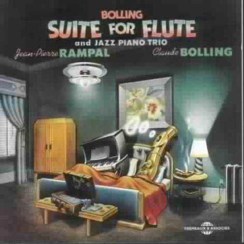 Bolling: Suite for Flute & Jazz Piano Trio (Jazz World Music Flute)