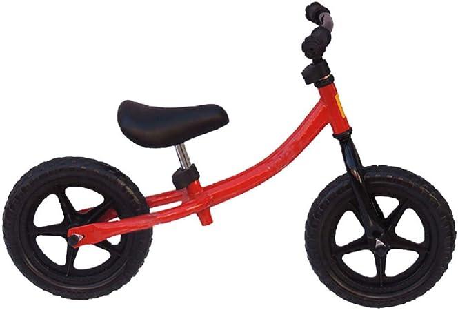YSH Equilibrio De 12 Pulgadas, Bicicleta, Hierro, Niños, Andar En Bicicleta, Niños Aprender A Andar En Bicicleta Equilibrio Deportivo, Andar En Juguetes,Red: Amazon.es: Hogar