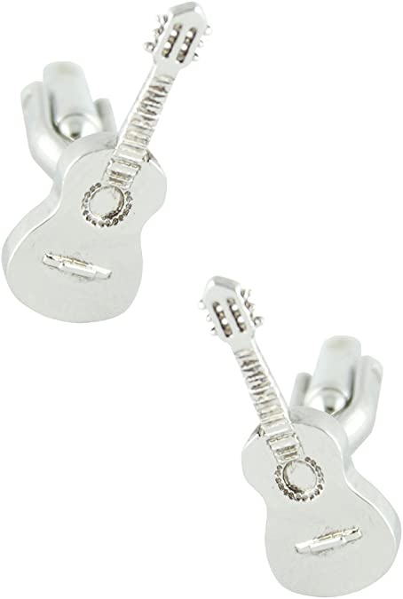 MasGemelos - Gemelos Guitarra Española Cufflinks: Amazon.es: Joyería