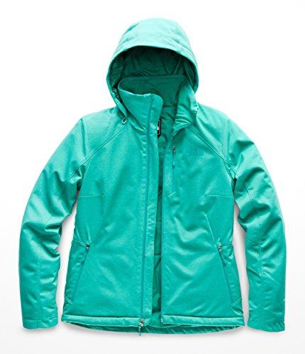 (The North Face Women's Apex Elevation 2.0 Jacket - Kokomo Green Heather - M)