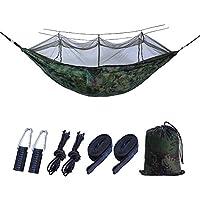 thematys Outdoor hangmat met muggennet, robuust en ultralicht, perfect voor kamperen, outdoor, overleven (hangmat 2)