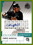 2004 SP Authentic Future Watch AUTOGRAPH #94 Chris Aguila FLORIDA MARLINS Serial #212/999