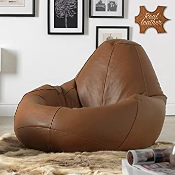 61c91ff995 Mollismoons Leather Bean Bag without Beans