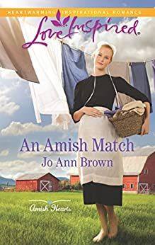 An Amish Match (Amish Hearts) by [Brown, Jo Ann]