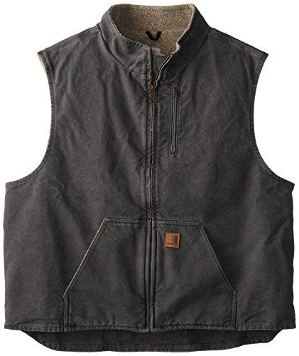 4516601655a2 Carhartt Men s Big   Tall Sherpa Lined Sandstone Mock Neck - Import It All