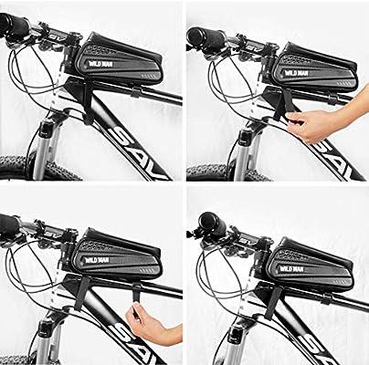 Bolsa de bicicleta, bolsa de cuadro de bicicleta, bolsa de ...