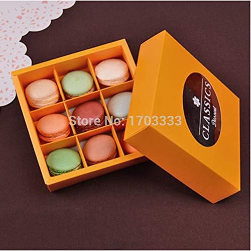 Box Of Chocolates - 120pcs Christmas Macarons Box Of Chocolate Packaging Cookie 9 Tablets Dhl Fedex - Uk Gift Lindor Men Cherry Turtles Shaped Anus Christmas Godiva