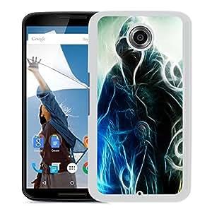 Unique DIY Designed Cover Case For Google Nexus 6 With Wizard Fantasy Mobile Wallpaper (2) Phone Case