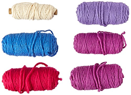 Peg Harrisville Loom (Harrisville Designs pegLoom & LapLoom Yarn Refill Pack - Berry)
