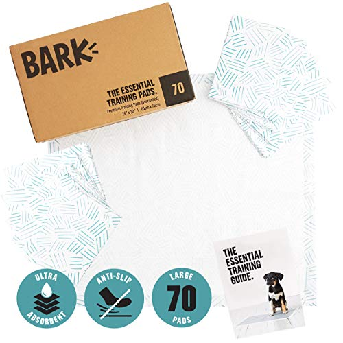Barkbox Ultra Absorbent Puppy Pads – Quick Dry and Leak Proof Dog Pee Pads | Pet Training Accessories for Housebreaking…