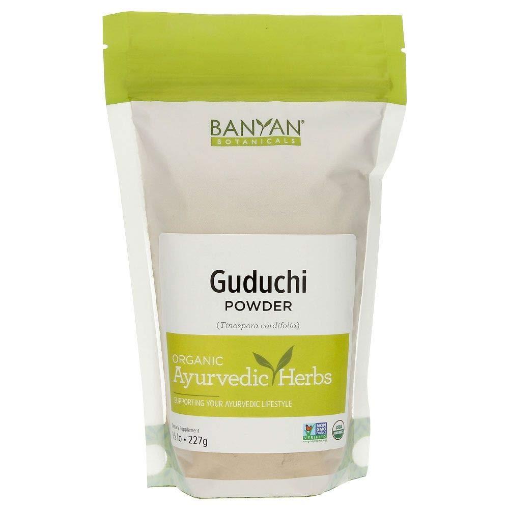 Banyan Botanicals Guduchi Stem Powder - USDA Organic, 1/2 Pound - Rejuvenating Herb for Digestion, Complexion, and Vitality* by Banyan Botanicals