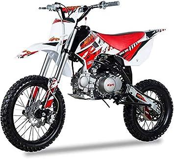 Pitbike Motorcycle Motocross 140cc Kayo Dirt Bike Krz140 17 14 Red