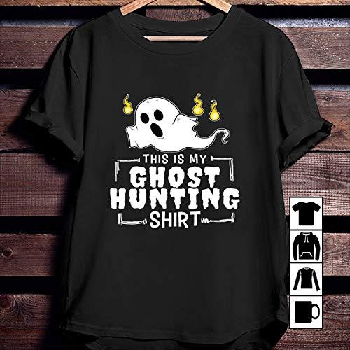 Ghost Hunting Ghost Hunting Shirt Halloween Costume Wraith Gift T Shirt Long Sleeve Sweatshirt Hoodie Youth