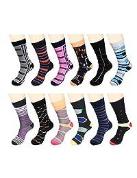 12 pares de calcetines de vestir para hombre