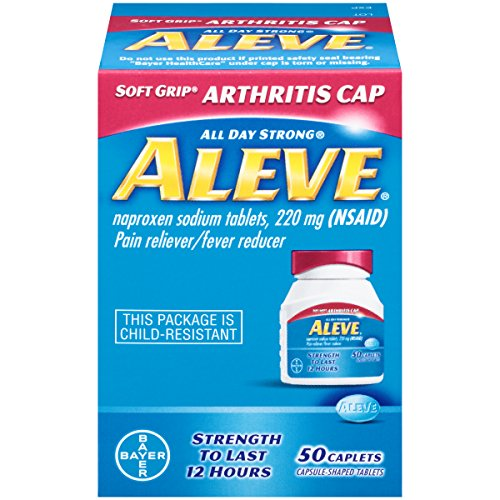 Aleve Arthritis Caplets, 50 Count