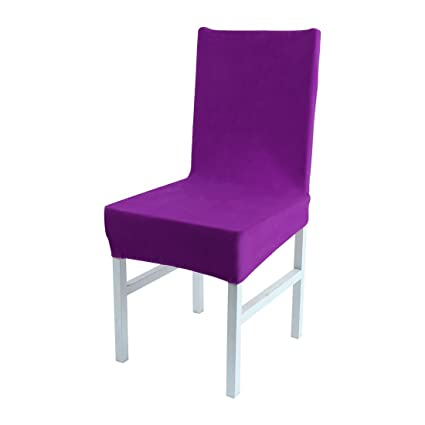 Image Unavailable Not Available For Color Uxcell Stretch Spandex Short Dining Room Chair Covers