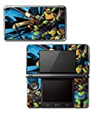 Teenage Mutant Ninja Turtles TMNT Leonardo Leo Shredder Cartoon Movie Video Game Vinyl Decal Skin Sticker Cover for Original Nintendo 3DS System